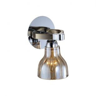 Бра N-Light 411-01-51CAB chrome + antique brass