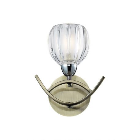 Бра N-Light 406-01-11 chrome + antique brass