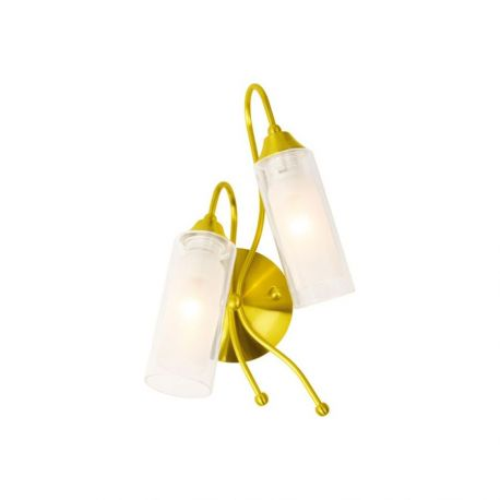 Бра N-Light B-423/2 (P-383) satin gold